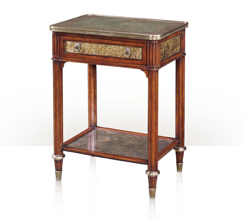 Theodore Alexander - Green Opalescence Accent Table - 5052-015