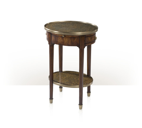 Theodore Alexander - Panelled Lamp Table - 5052-019