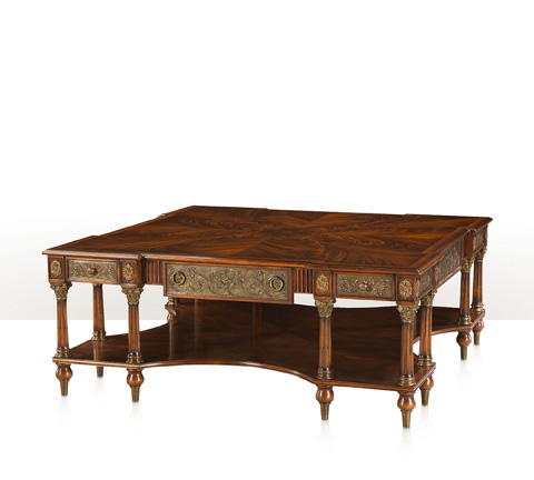 Theodore Alexander - Classical Gathering Cocktail Table - 5105-071