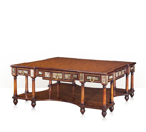 Theodore Alexander - Turquoise Encounter Cocktail Table - 5105-216