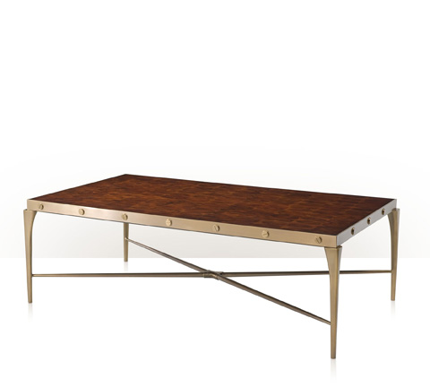 Theodore Alexander - Oyster Bolt Cocktail Table - 5105-286