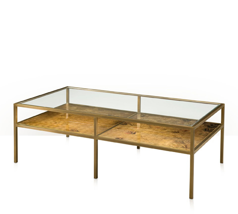 Theodore Alexander - Burnished Bright Cocktail Table - 5121-065