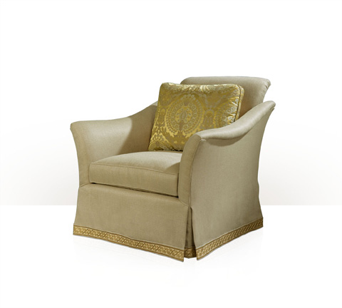 Theodore Alexander - Addie Skirted Club Chair - 5141