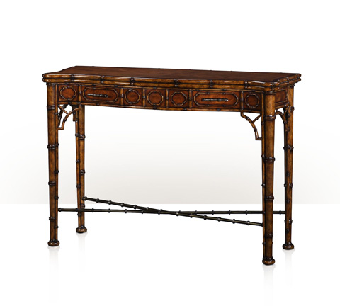 Theodore Alexander - The Edwardian Bamboo Console Table - 5300-138