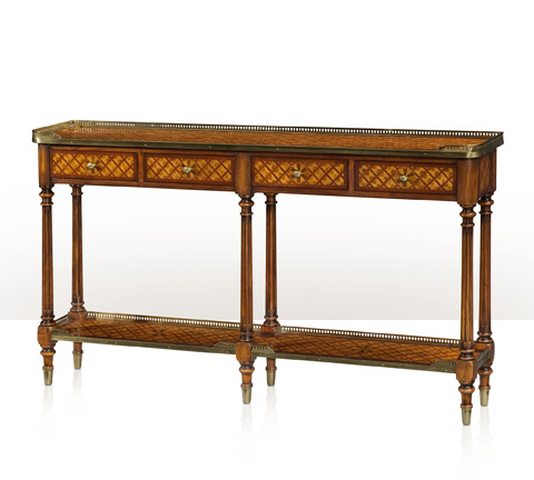 Theodore Alexander - Brass Mounted Console Table - 5305-003