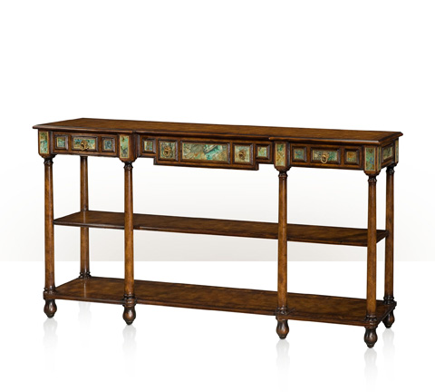 Theodore Alexander - Three Drawer Console Table - 5305-142