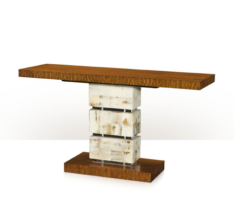 Theodore Alexander - A Trio Of Textures Console Table - 5305-189