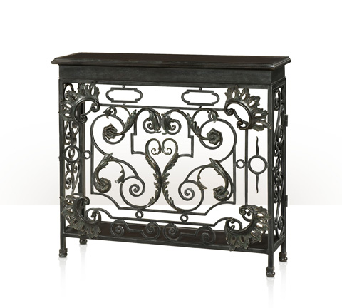 Theodore Alexander - The Napoleonic Wrought Console Table - 5311-012