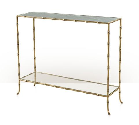 Theodore Alexander - Coastal Mirrored Console Table - 5321-054