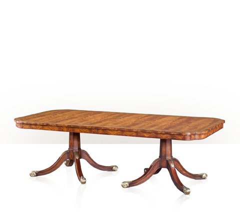Theodore Alexander - Twin Pedestal Dining Table - 5405-153
