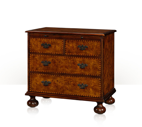 Theodore Alexander - Exquisite Chevron Chest - 6005-005BN