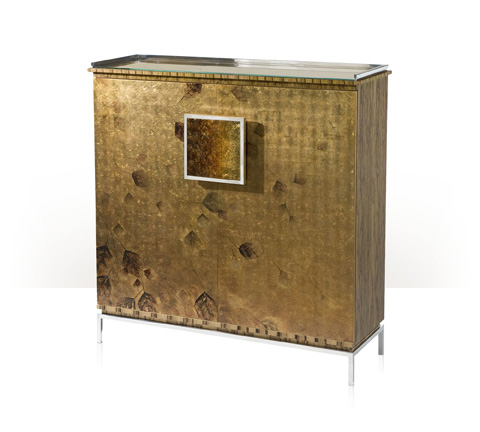 Theodore Alexander - Autumnal Glow Side Cabinet - 6105-464