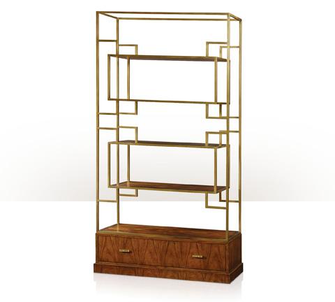 Theodore Alexander - Patterns In Brass Etagere - 6321-030