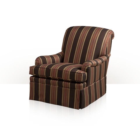 Theodore Alexander - Orpha Skirted Club Chair - 7284