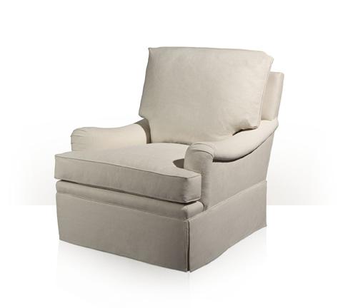 Theodore Alexander - Skirted Club Chair - 8006XX