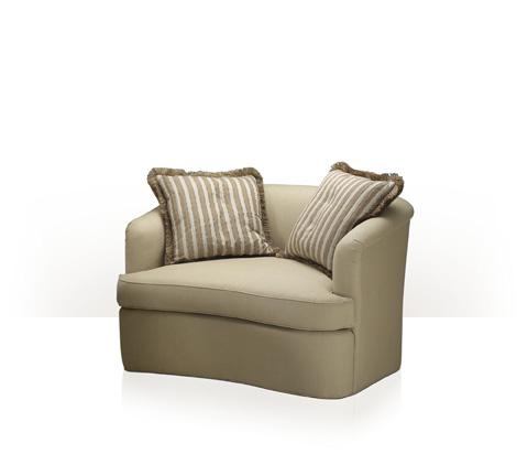 Theodore Alexander - Luella Chair and a Half - 8028