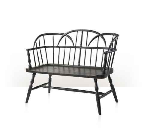 Theodore Alexander - The Hoop Back Bench - AM45001