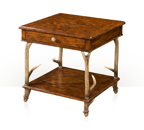 Theodore Alexander - The Hunting Lodge Lamp Table - CB50014