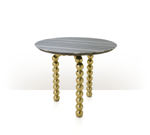 Theodore Alexander - Pearls Side Table - JD50006