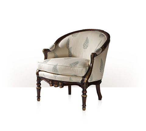 Theodore Alexander - The India Silk Bedroom Chair - A214.5