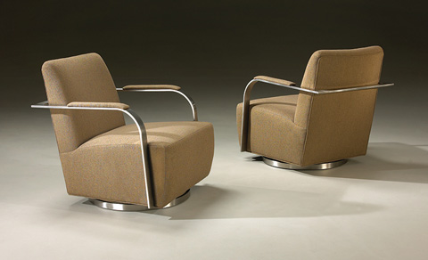 Image of Zac Swivel Chair