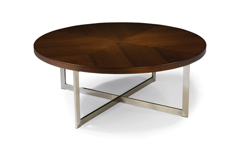 Thayer Coggin - Export Round Cocktail Table - 1173-14