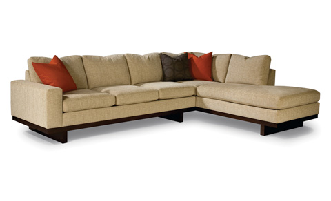 Thayer Coggin - Studio MB Sectional Sofa by Milo Baughman - 1174-301