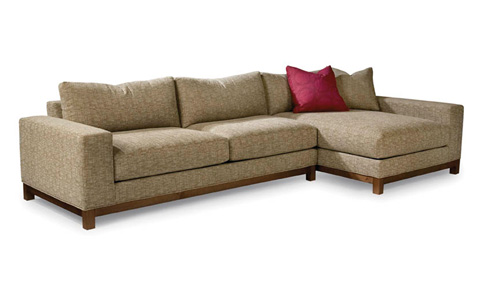 Thayer Coggin - Miniwood Sectional - 1208-311