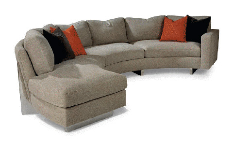 Thayer Coggin - Cool Clip Sectional - 1217-212