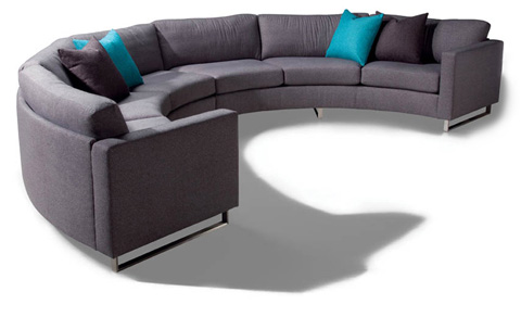Thayer Coggin - Design Classic Circle Sectional by Milo Baughman - 1224-301