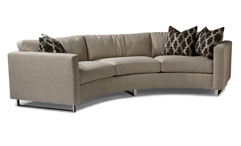 Thayer Coggin - Circle Sofa by Milo Baughman - 1224-303