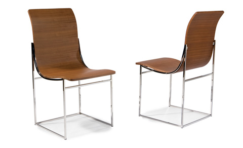Thayer Coggin - Moe Dining Chairs by Milo Baughman - 1235-110