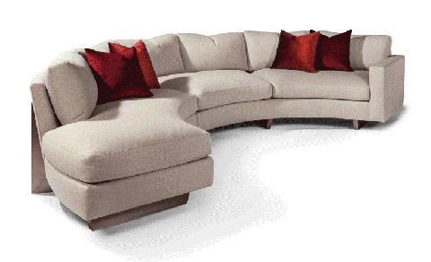 Thayer Coggin - Toasted Clip Sectional - 1317-212