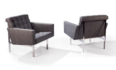 Thayer Coggin - Spacey Chairs by Milo Baughman - 1330-103