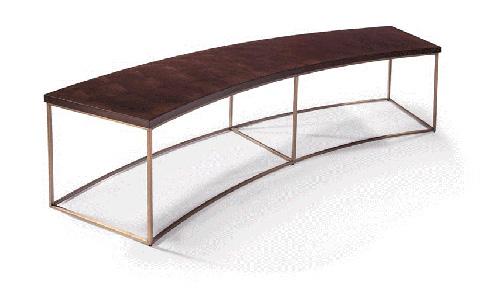 Thayer Coggin - Curved Sofa Table by Milo Baughman - 1331-30-B