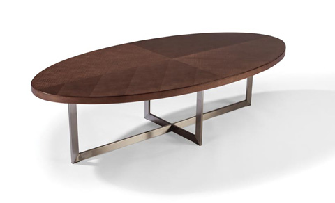 Thayer Coggin - Mabel Maple Oval Cocktail Table - 1333-12