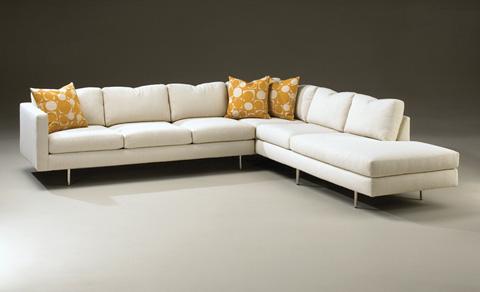Thayer Coggin - Design Classic Sectional Sofa by Milo Baughman - 855-301