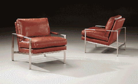 Image of Milo Lounge Chair by Milo Baughman