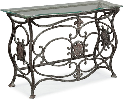 Thomasville Furniture - Glass Top Console Table - 41531-721