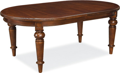 Image of Oval Dining Table