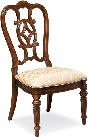 Image of Scroll Back Side Chair