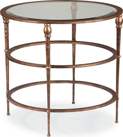 Thomasville Furniture - Round Metal Lamp Table - 82091-231