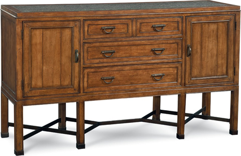 Image of Sideboard with Stone Top
