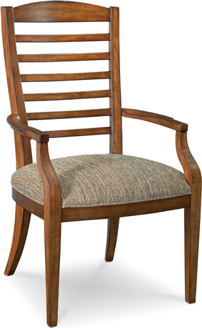 Image of Slat Back Arm Chair