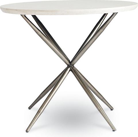 Thomasville Furniture - Round Travertine Side Table - 84191-221