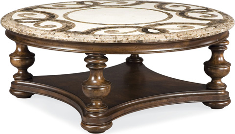 Image of Trebbiano Round Cocktail Table