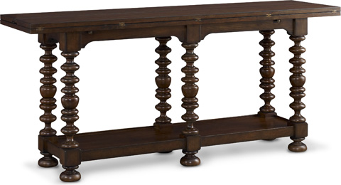 Image of Sussex Flip Top Console Table