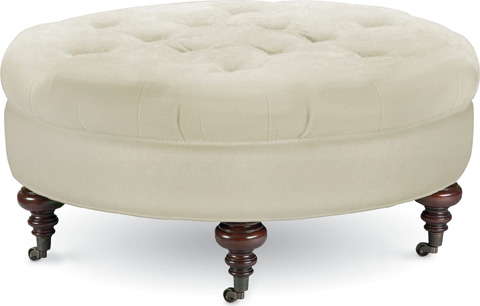 Thomasville Furniture - Regatta Round Ottoman - 1611-16C