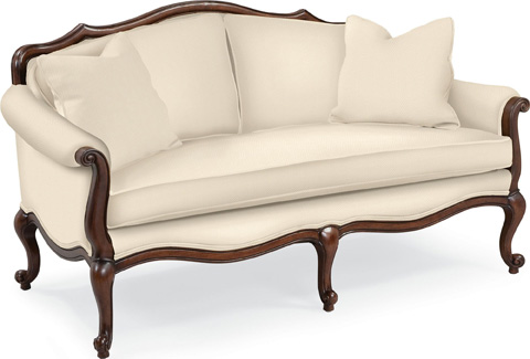 Thomasville Furniture - Devereux Settee with Double Welt Trim - 1615-13