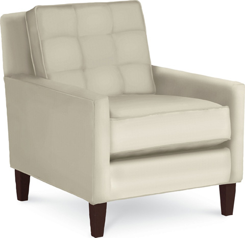 Thomasville Furniture - Highlife Biscuit Back Chair - 1670-15